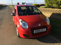 2009 09 Suzuki Alto 1.0 SZ3 Petrol Red 5 Door £20 ROAD TAX MOT APRIL 2018.