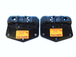 Mercedes CLK320 04-08 OEM Convertible Top Plate Pair 2097700122
