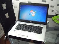 """Possible2Deliver - Toshiba Satellite Pro - Win7 64Bit - 15.6"""" - Intel Core2Duo 4.4Ghz - 4Gb - Webcam"""