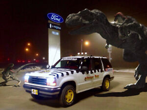 1994 Ford Explorer XLT, Jurassic Park 4x4 Project