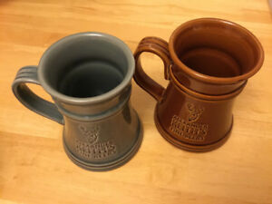 Alexander Keith beer mugs