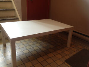 "Table basse Blanche""IKEA"""