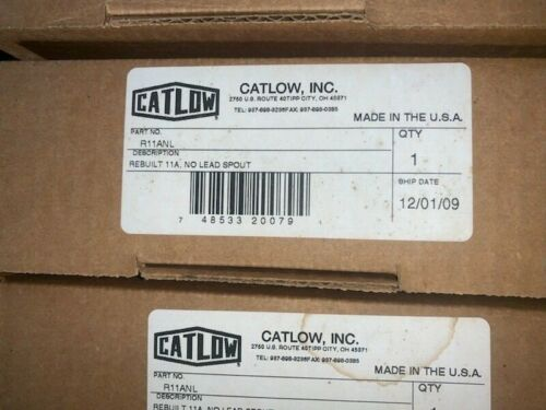 Catlow Nozzle