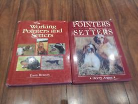 Pointers / Setters Dog Book Bundle