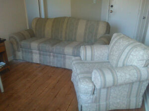 Couch chair new queen bed table chairs
