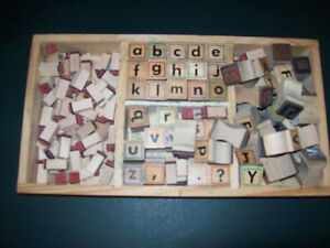 BOX  OF  LETTER  STAMPS