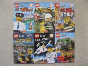 Lego City Kids Books