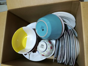 assorted dishes more the 20 of them in great condition