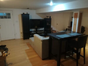 1 Bedroom Bsmt. Apt. Available April 15th