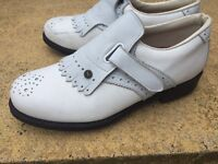Ladies size 5 leather golf shoes