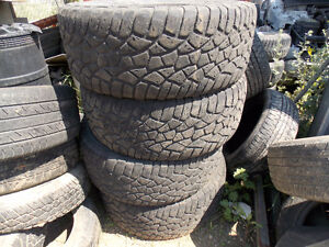 Set of 4 Used 275/55R20 . All 4 for $100