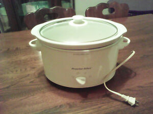Slow cooker - mijoteuse