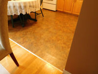 NEED EXPERIENCED VINYL FLOOR INSTALLER FOR 90 sf KITCHEN