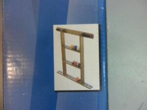 Pool Cue and Ball Rack