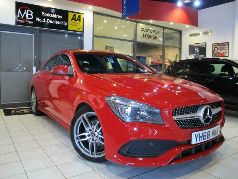 2018 Mercedes-Benz CLA CLA 180 AMG Line 4dr Tip Automatic *SAT NAV**LEATHER* ++1