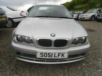 2002 BMW 3 SERIES 318 Ci 16V NICE IN SILVER