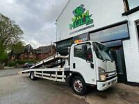 2013/13 Isuzu N75 190 7.5 Ton Twin Deck Recovery Truck Car Transporter