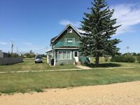 Starter Home with Large Yard in Tribune, SK