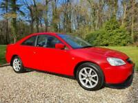 Honda Civic Coupe 1.7 VTEC 2dr + Electric Sunroof