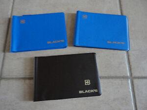 Lot of 5 Black's photo album picture album