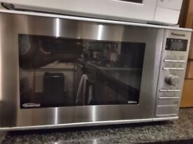 Panasonic Microwave with Grill on sale