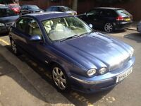 2005 Jaguar X Type TURBO DIESEL PERFECT LUXURY DRIVE MOT TAX,FULL LEATHER, HPI CLEAR