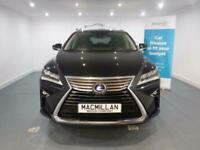 2016 Lexus RX 450H PREMIER HYBRID ELECTRIC Auto Estate Petrol/Electric Hybrid Au