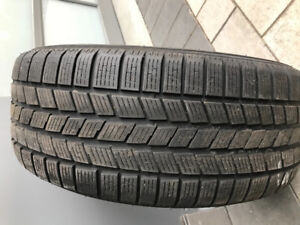 2 winter tires 265/55/19 Pirelli Scorpion Ice & Snow