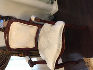 Solid wood queen Ann chairs