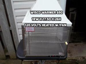 Wisco 690 warmer/ Shawarma Elec.  (DAK) London Ontario image 1