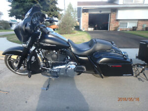 2014 Harley Davidson Street Glide 103 High out put Stage 4