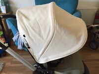 Bugaboo bee plus off white hood