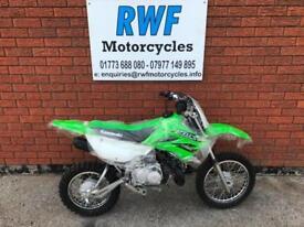 Kawasaki KLX110 L, CLUTCH MODEL, 2018, BRAND NEW, FINANCE, PX, £99 DELIVERY