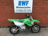 Kawasaki KLX110 L, CLUTCH MODEL, 2018, BRAND NEW, FINANCE, PX, £99 DELIVERY