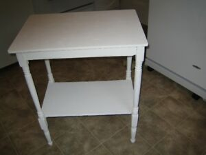 small solid wood table antique