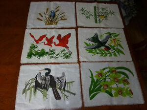 Handmade Placemats from St. Lucia