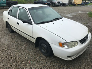 PARTS AVAILABLE FOR A 2002 Toyota Corolla 4dr Sdn CE Auto (Natl)