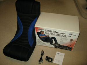 LevelUp Folding Stereo Gaming Chair with blue tooth