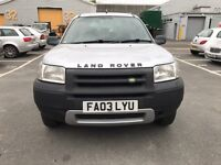 Land Rover free lander selling quick