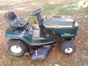 "Craftsman LT1000 21 HP Twin Riding Tractor 42 "" Deck."