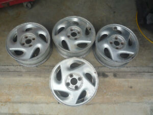 "Ensemble Set 4 Mags origine Civic 92-93-94-95 Honda 14"" 4X100"