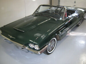 THUNDERBIRD 1965 COLLECTOR CAR PARTS LEFT OVER.