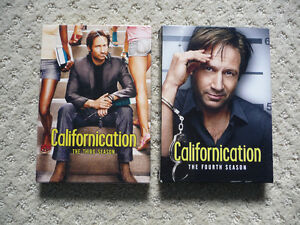 Californication on DVD - Seasons 3 & 4