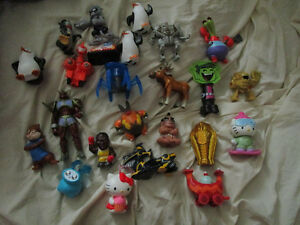 Various Yu-Gi-Oh and McDonald's toys