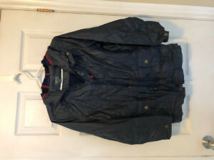 Boys ROOTS rain coat size XXL (13/14 yrs)