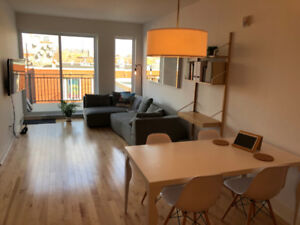 St-Henri Apartment, Awesome location, Fully furnished - Jan/Fev