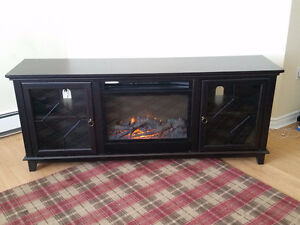 Lotus Media Fireplace - 67 inches