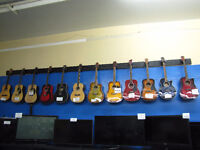 Guitars (Acoustic and Electric)