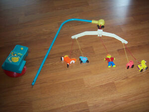 vintage 1973 Fisher Price baby mobile