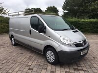 2006 Vauxhall Vivaro 1.9 CDTi 2900 (LWB) 99K WARRANTED MILES, ROOF RACK, PX TO CLEAR, NO VAT trafic